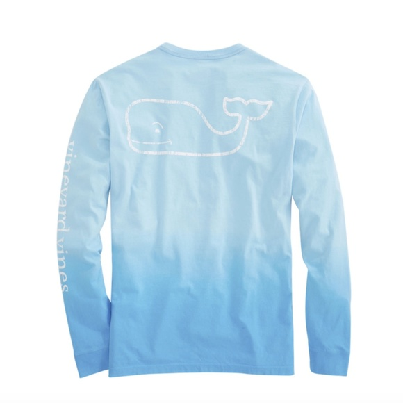 91672799 Long-Sleeve Dip Dyed Vintage Whale Pocket T-Shirt.  M_5aa73b852ae12f163c10847d